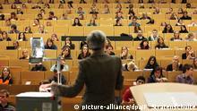 Deutschland Universität Vorlesung Dozent