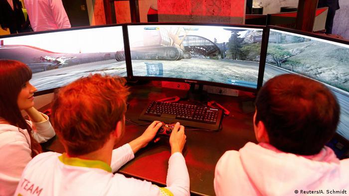 Deutschland IFA 2015 Videospiel Acer Stand