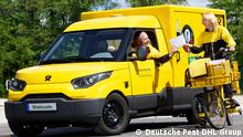 Deutsche Post DHL Elektro Fahrzeuge StreetScooter