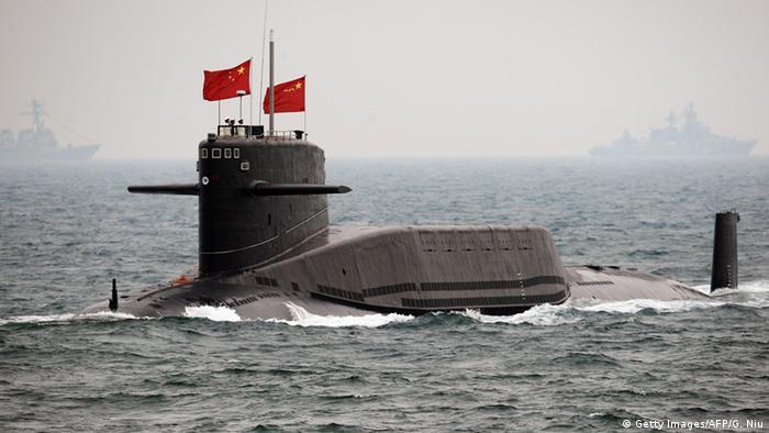 Chinesisches Kriegsgerät U-Boot