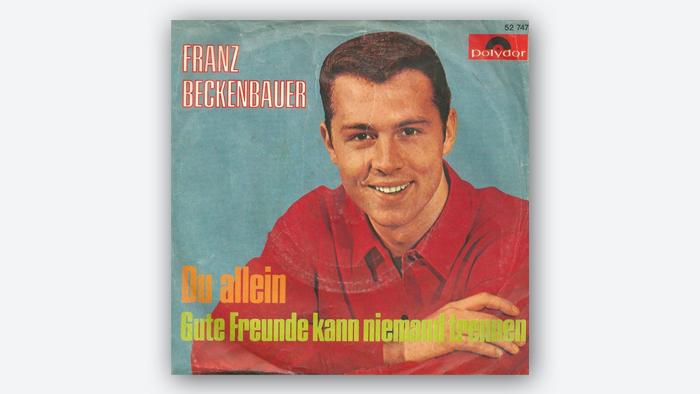 Bildergalerie Franz Beckenbauer 70. Geburtstag - Plattencover EINSCHRÄNKUNG