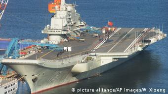 Chinesisches Kriegsgerät Liaoning Flugzeugträger