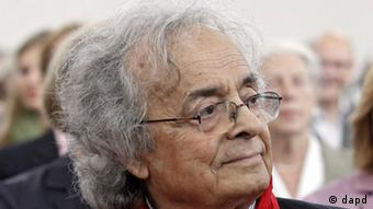 Adonis at the presentation of the Goethe Prize in 2011 in Frankfurt, Copyright: dapd