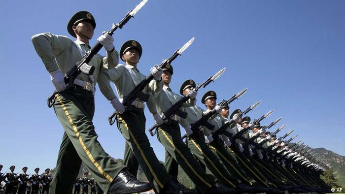 china peking militär parade