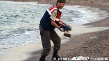 Flüchtling Kinderleiche Türkei Bodrum Syrien Kos EINSCHRÄNKUNG