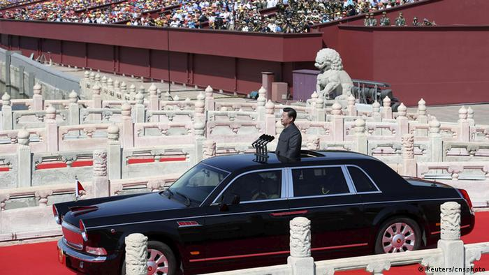 China Militärparade in Peking 70. Jahrestag Ende 2. Weltkrieg Bildergalerie (Reuters/cnsphoto)