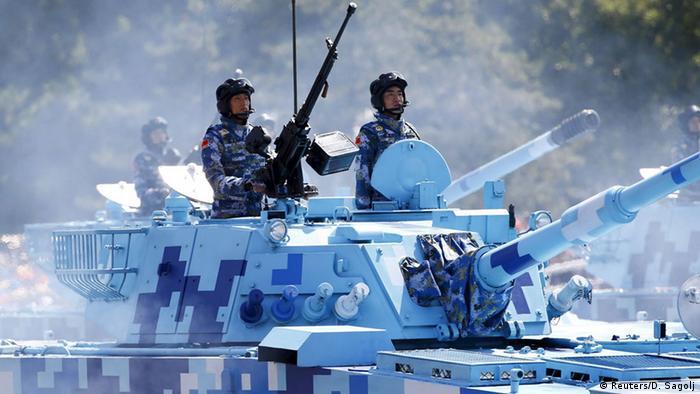 China Militärparade in Peking 70. Jahrestag Ende 2. Weltkrieg Bildergalerie (Reuters/D. Sagolj)