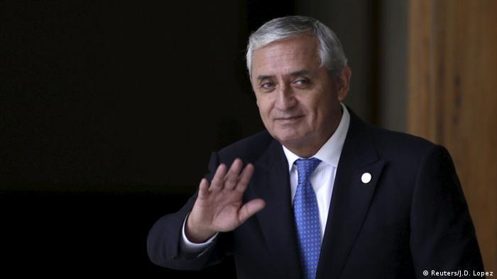 Guatemala Präsident Otto Pérez Molina