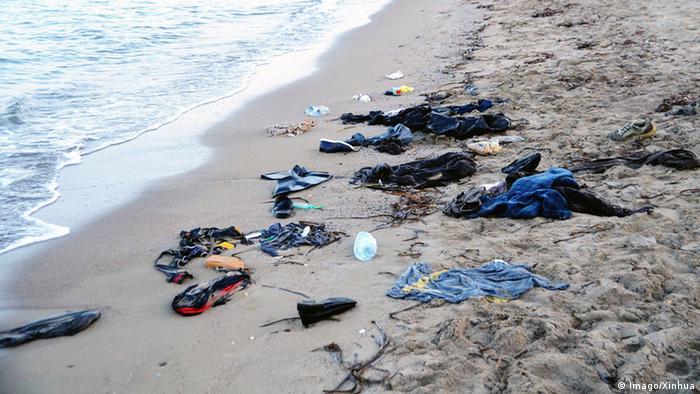 Türkei Syrische Flüchtlinge vor Bodrum ertrunken