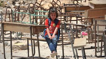 Symbolbild 13 Millionen Kinder können wegen Krieg nicht zur Schule