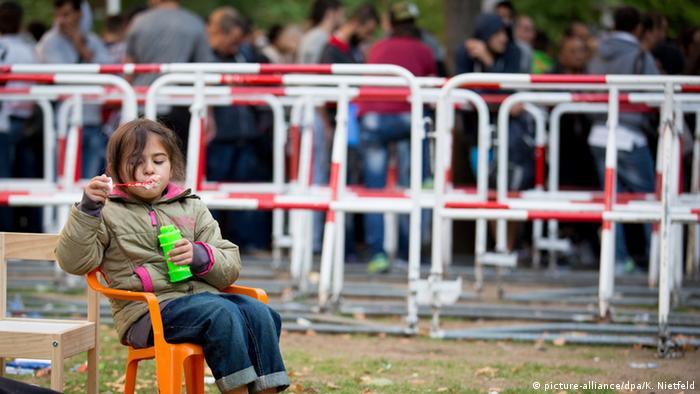 Deutschland BdT Berlin Flüchtlinge