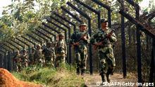 An der Grenze zwischen Indien und Bangladesch