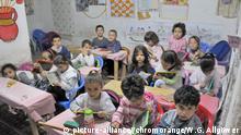 Klassenzimmer, Schule in Fes, Marokko, Afrika DPA-Erfassungsdatum: 10.06.2011 +++picture-alliance//chromorange/W.G. Allgöwer