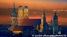 Bildergalerie Sonnenuntergang in Deutschland