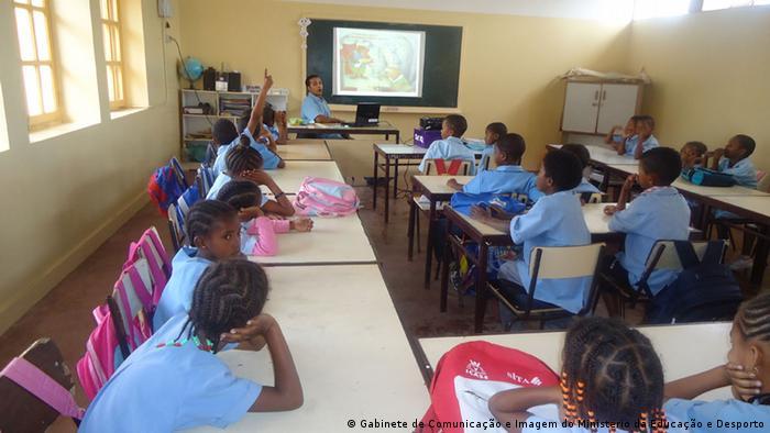 Schule auf den Kapverden Erdkunde-Unterricht
