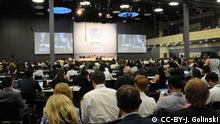 ADP Opening Session The tenth part of the second session of the Ad Hoc Working Group on the Durban Platform for Enhanced Action (ADP) will be held from 31 August - 4 September 2015 in Bonn, Germany. Bild: Flickr Jan Golinski / jgolinski@unfccc.int