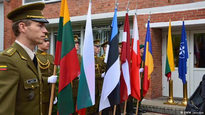 Открытие штаба НАТО в Вильнюсе