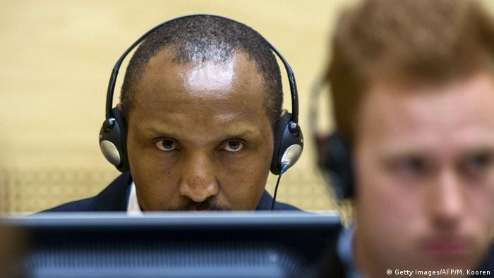 Niederlande Internationaler Gerichtshof Prozess Bosco Ntaganda Den Haag (Getty Images/AFP/M. Kooren)