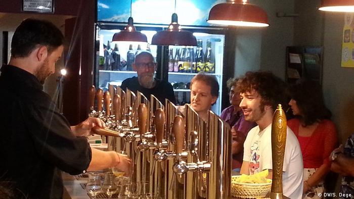 Simonmattia Riva Weltmeister der Bier-Sommeliers Biergarage