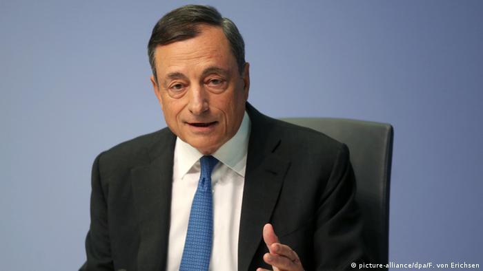 Mario Draghi Präsident der Europäischen Zentralbank EZB