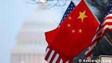 Symbolbild USA China Beziehungen Hacking