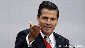 El actual presidente de México, Enrique Peña Nieto.