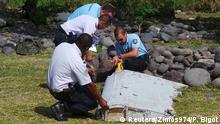 La Reunion Fund wrackteil Flug MH370