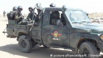 Kamerun Soldaten Anti Boko Haram