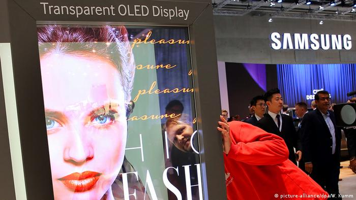 IFA Berlin 2015 OLED Display