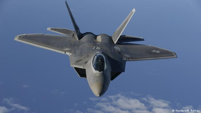 NATO Luftpatrouille Baltikum F-22 Raptor