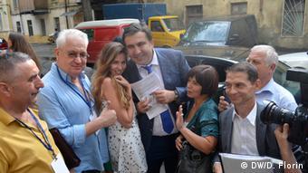 Жители Одессы в большинстве своем положительно воспринялиназначание Михаила Саакашвили
