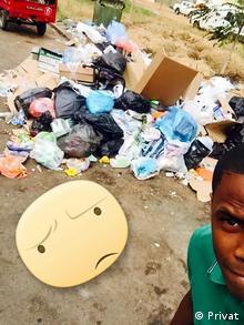 Campanha Selfie - Lixo