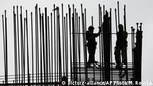USA Baustelle Symbolbild Arbeitsmarkt