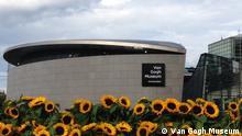 Van Gogh Museum Amsterdam Neuer Eingang Empfangsbereich Sonnenblumenlabyrinth