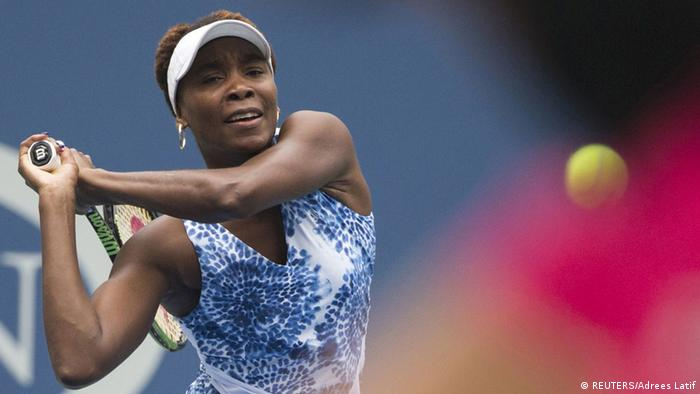 Venus Williams US-Open Sieg über Belinda Bencic