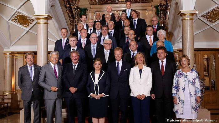 Ministri vanjskih poslova Europske unije u Luxembourgu 5.9.2015.