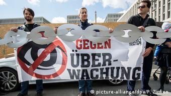 Demonstration against surveillance