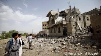Saudi-arabische Luftangriffe im Jemen