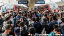 Deutschland Flüchtlinge Bahnhof München