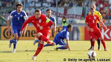 SAN MARINO, ITALY - SEPTEMBER 05: Wayne Rooney of England scores the opening goal from the penalty spot equalling the record of 49 goals set by Sir Bobby Charlton during the UEFA EURO 2016 Qualifier between San Marino and England at Stadio Olimpico on September 5, 2015 in San Marino, Italy. (Photo by Marco Luzzani/Getty Images)