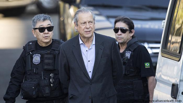 Brasilien Ehemaliger Minister Jose Dirceu für schuldig befunden