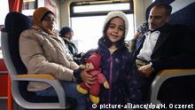 Dortmund Ankunft Flüchtlinge Zug