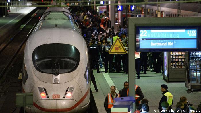 Dortmund Ankunft Flüchtlinge