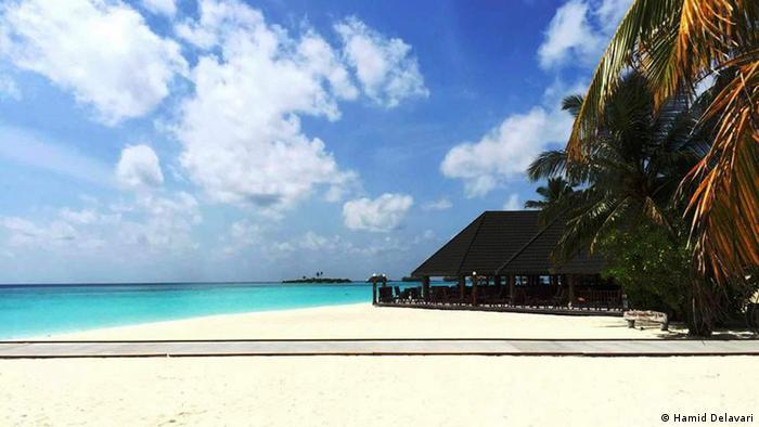 Malediven Insel Strand