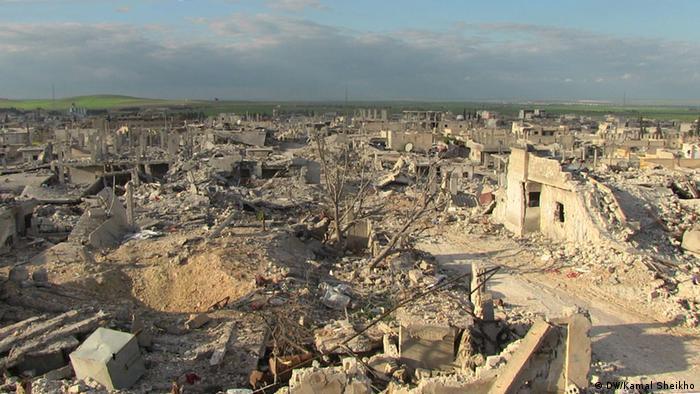Syrien Kobane Zerstörung Ruinen