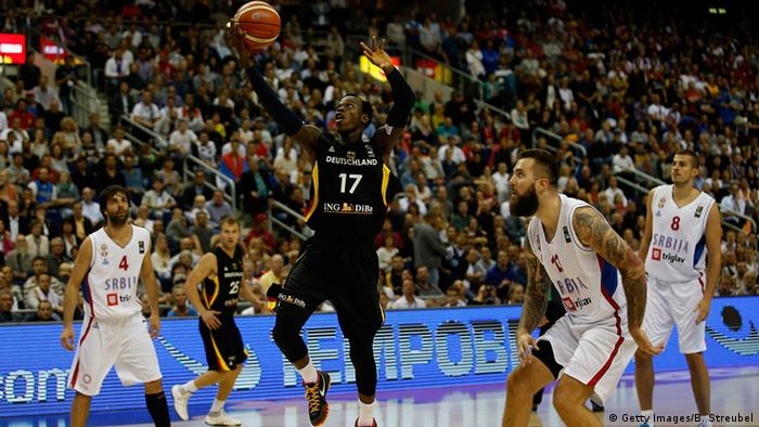 Deutschland Basketball-EM Serbien vs. Deutschland (Getty Images/B. Streubel)