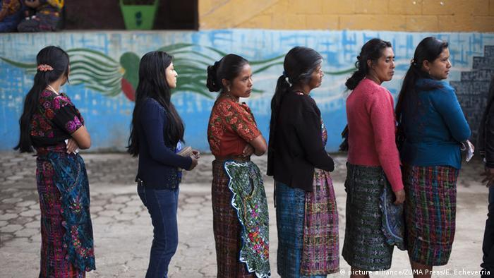 Wahlen in Guatemla