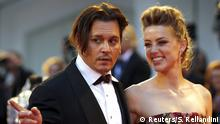 Italien 72. Filmfestspiele in Venedig Johnny Depp The Danish Girl