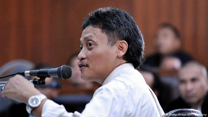 Indonesien Pollycarpus Priyanto Ex-Pilot (Getty Images/AFP/A. Berry)