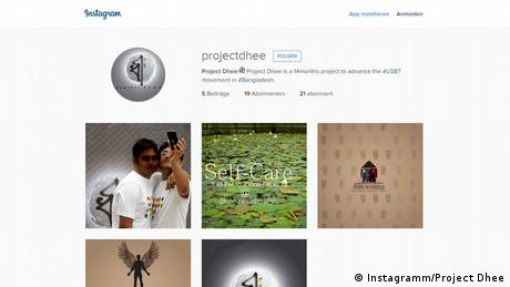 Screenshot Instagramm Project Dhee